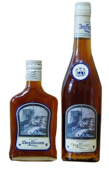 """Бренди """"дербентская крепость"""": о производителе и спиртном напитке"""