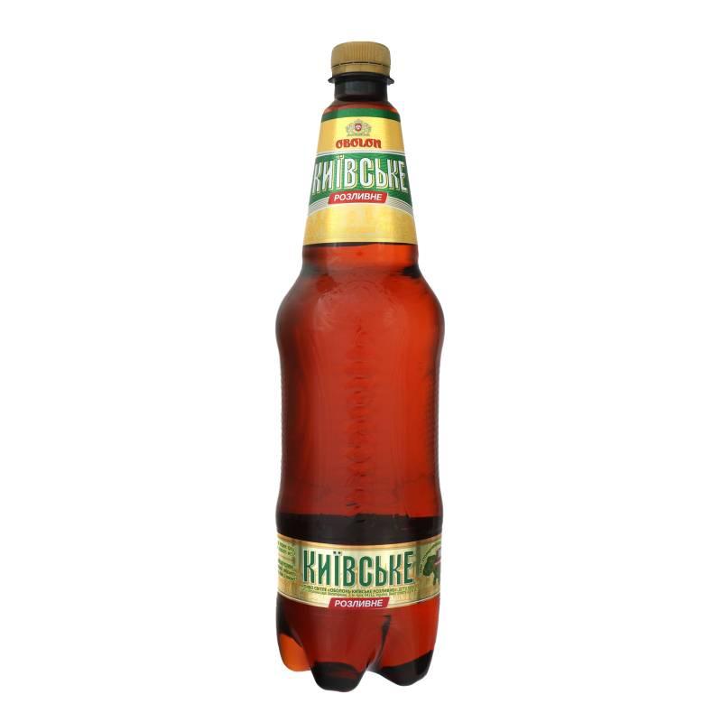 Пиво «оболонь» (obolon): история бренда и характеристика напитка