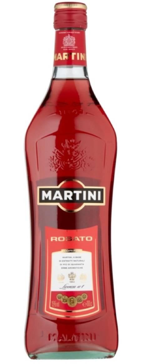 Культура употребления и коктейли с мартини розато