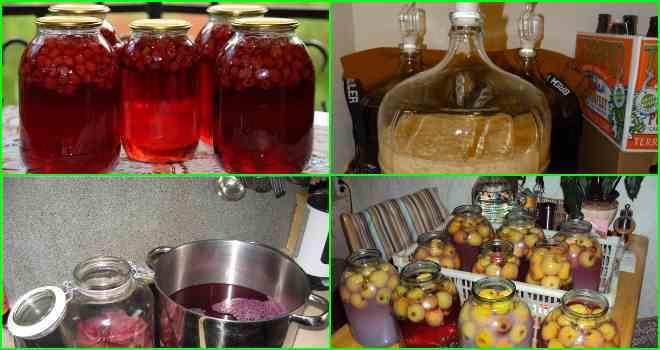 Как приготовить самогон из компота и варенья