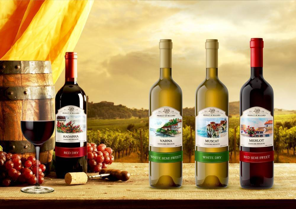 Представляем вина болгарии