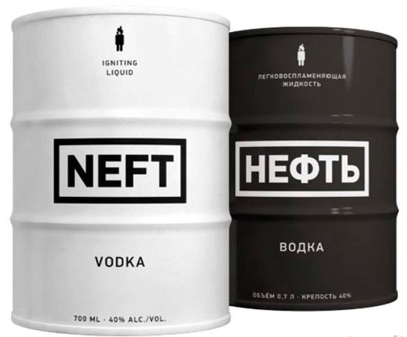 Водка нефть (neft): описание, история и виды марки