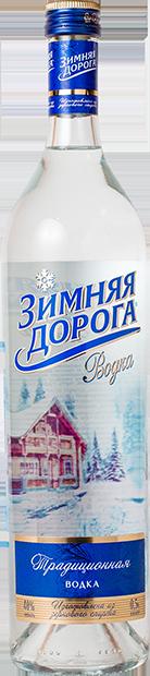 """Две разновидности водки """"зимняя дорога"""": отзывы, состав, рекомендации"""