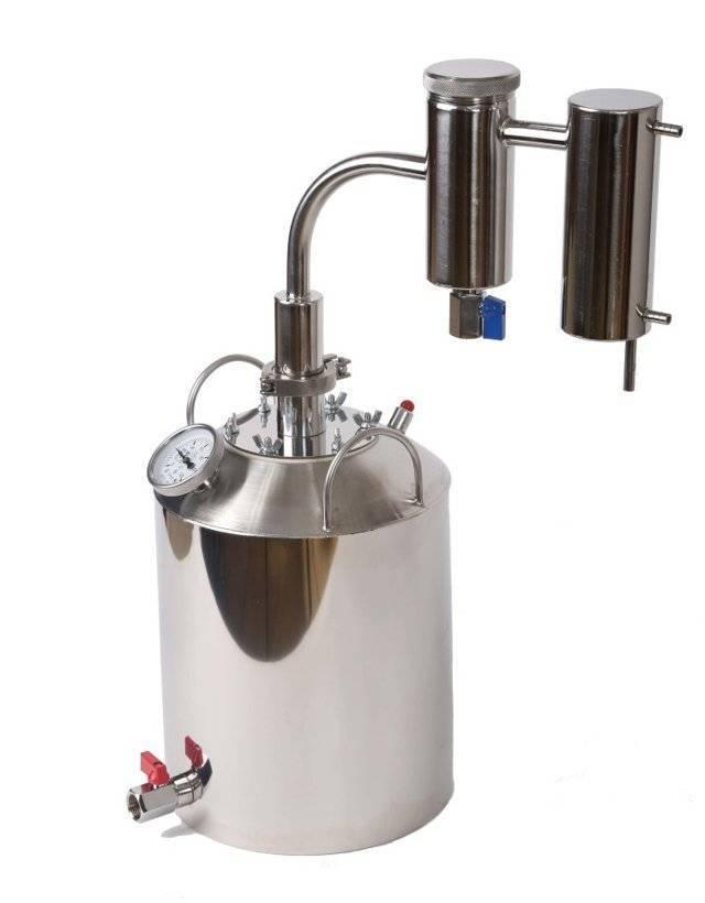 Стеклянный самогонный аппарат: состав, преимущества и недостатки дистиллятора из стекла