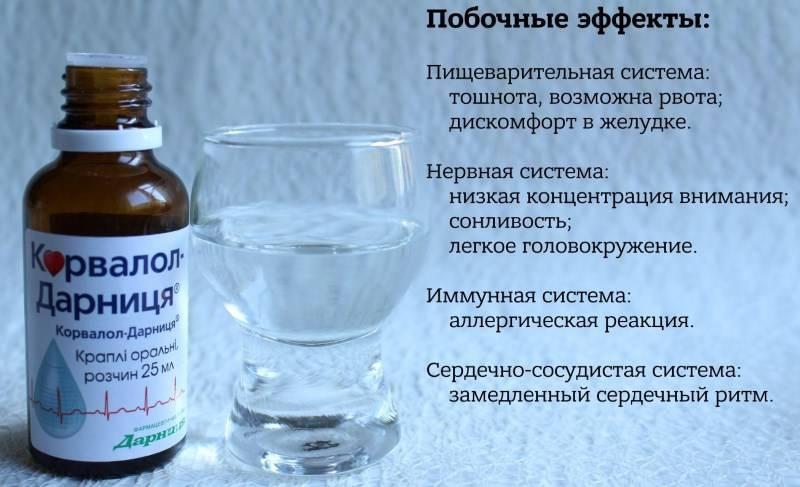 Совместим ли валокордин и алкоголь