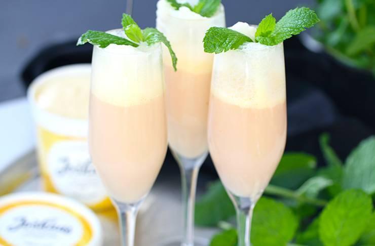 Коктейли с шампанским: проверенные рецепты для приготовления дома. эксклюзивный рецепт коктейля на основе шампанского с мороженным!