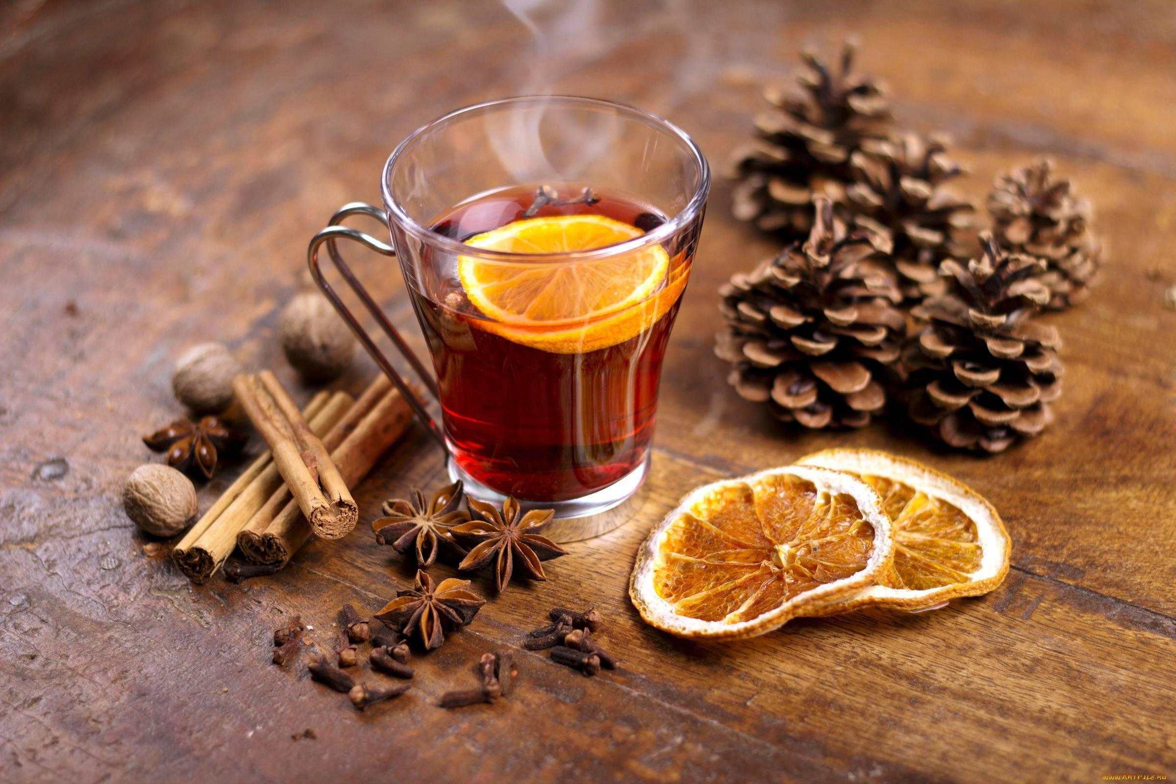Рецепт приготовления горячего вина от простуды