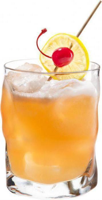 Рецепты коктейлей на основе виски