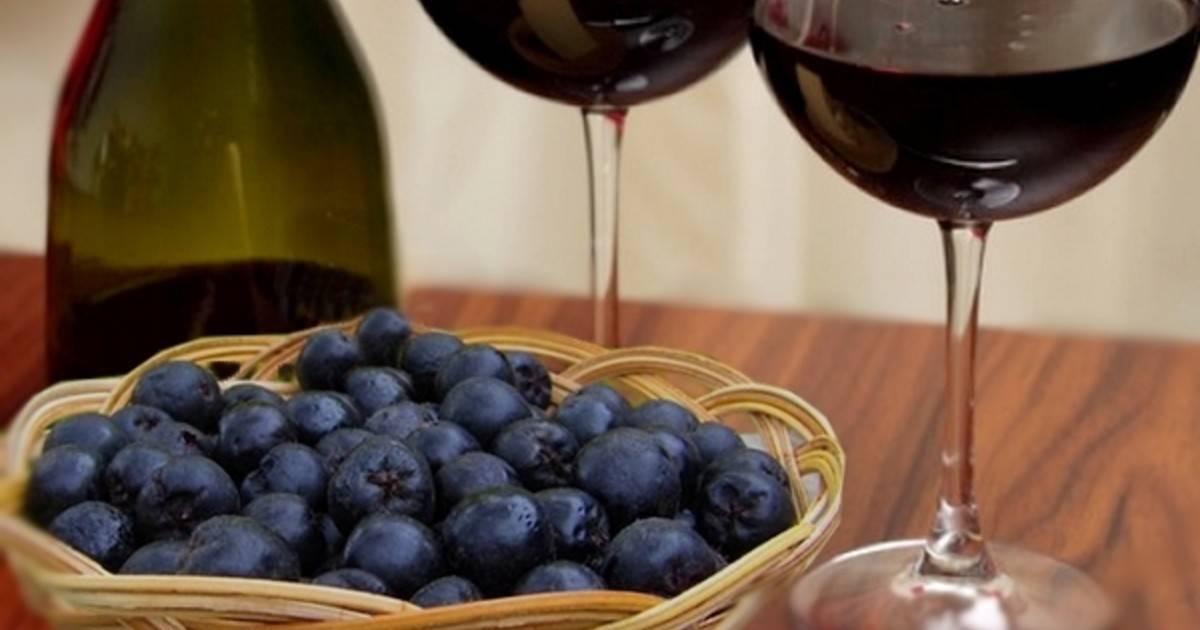 Вино из рябины черноплодной в домашних условиях: рецепты с фото пошагово, видео