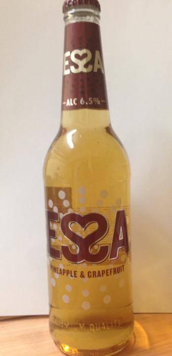 Сколько градусов в essa пиве?