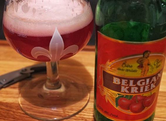 Что такое пиво в стиле kriek?