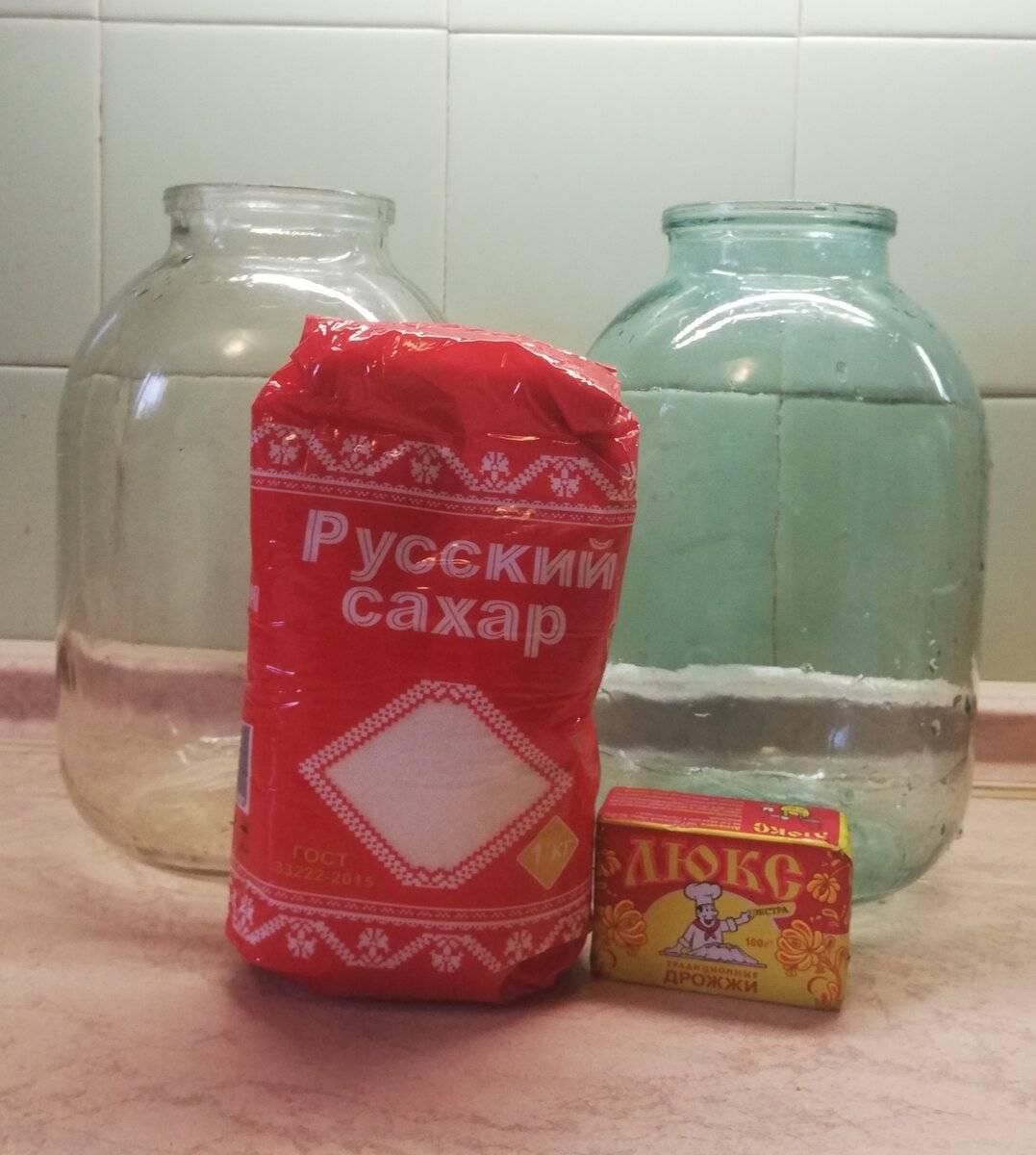 Как правильно поставить брагу из варенья? пропорции для самогона и для питья