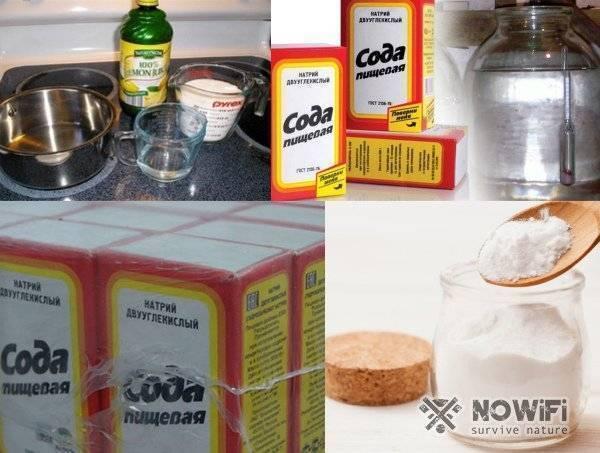 Очистка самогона содой в домашних условиях: польза и вред, рецепт