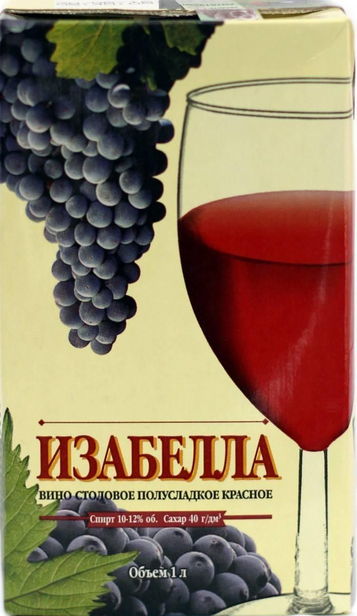 Домашнее вино из винограда изабелла — простой рецепт