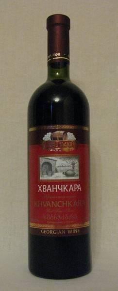 Грузинское вино хванчкара (khvanchkara) напиток с богатой и самобытной историей