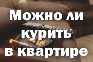 Курение в квартире в 2020: можно ли курить? закон, штрафы, советы