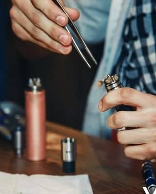 Методы ремонта электронных сигарет