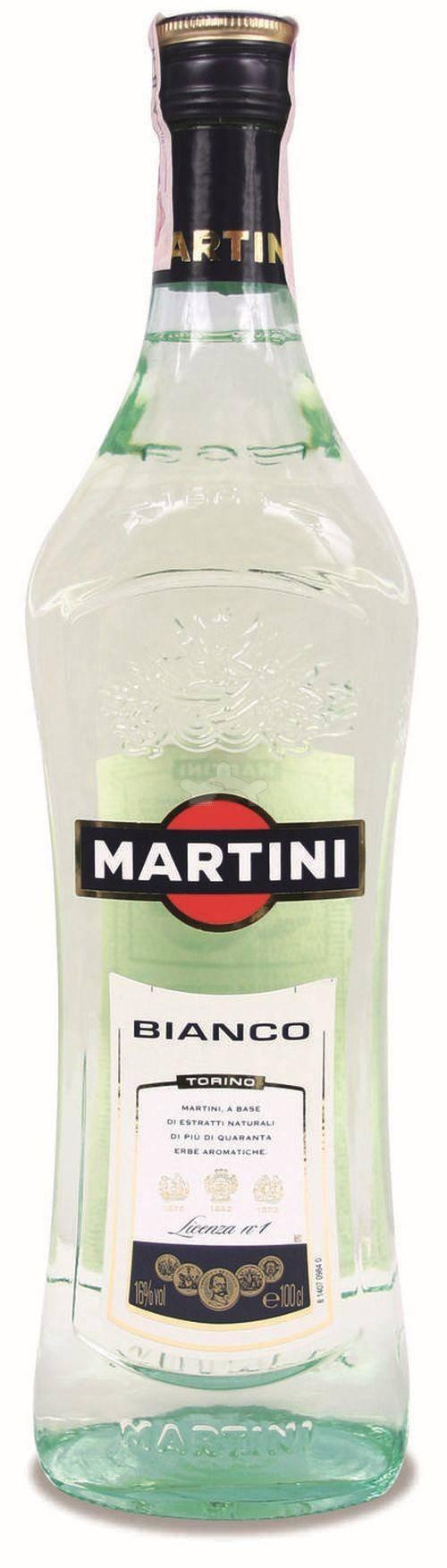 Сколько градусов в мартини бьянко