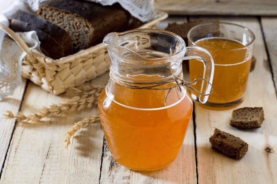 Квас из ржаной муки и солода – кулинарный рецепт