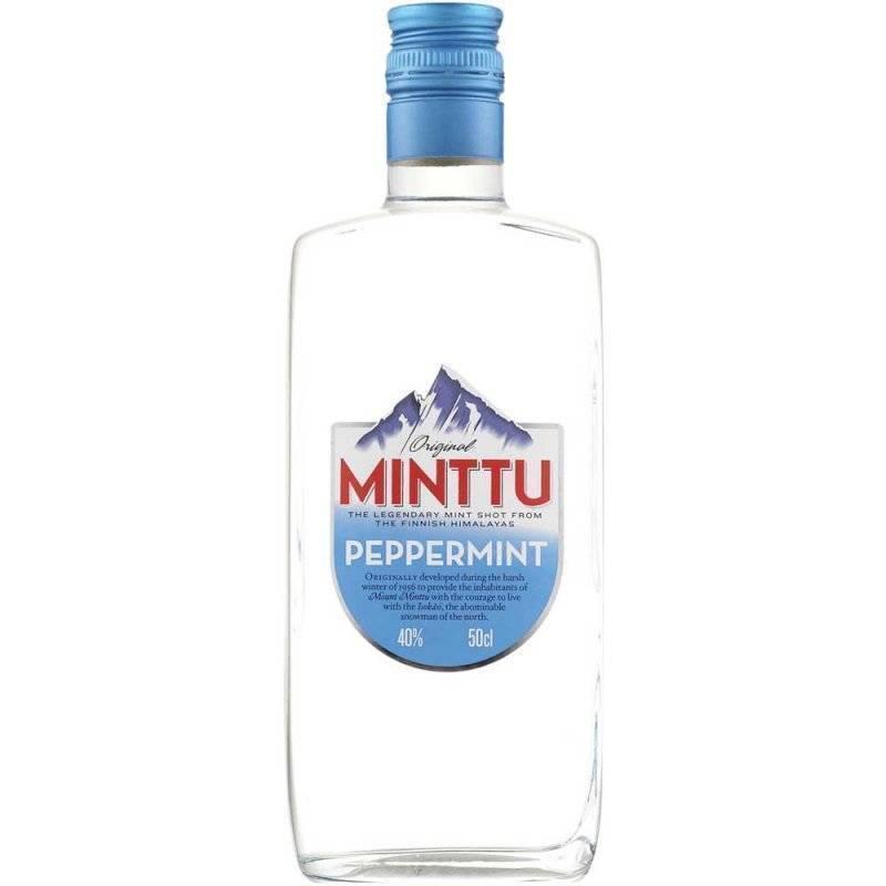 Финский ментоловый ликер minttu (минту) и его особенности