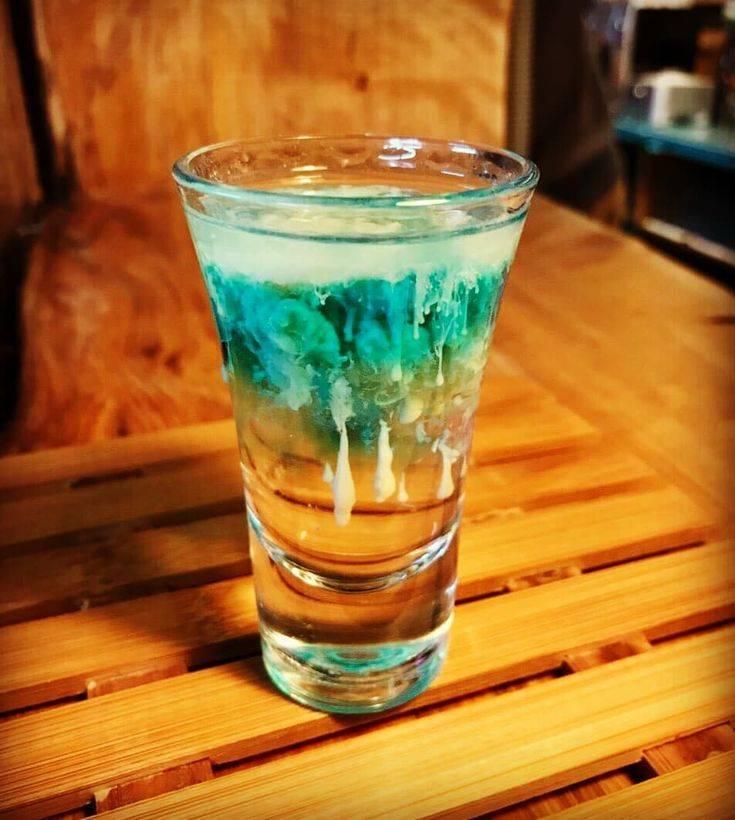 Как сделать коктейль медуза в домашних условиях ⛳️ алко профи