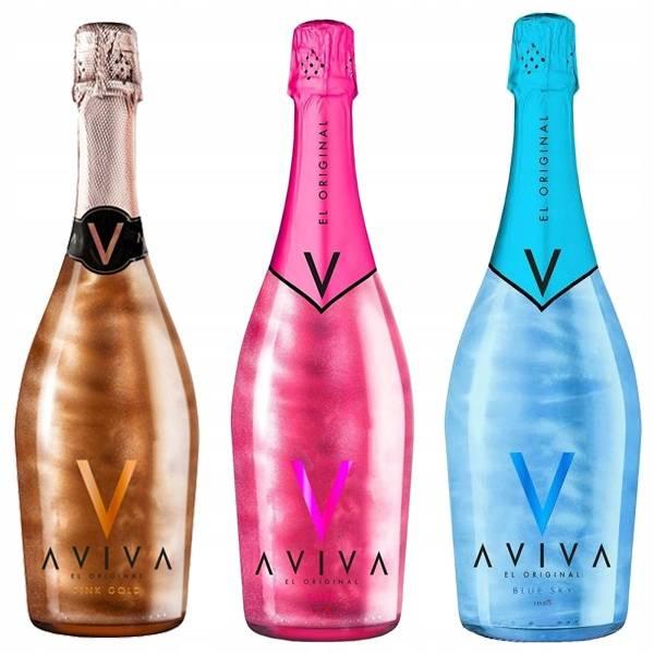Испанское шампанское aviva
