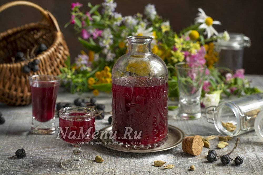 Ликер из черноплодной рябины в домашних условиях: рецепты приготовления и способы
