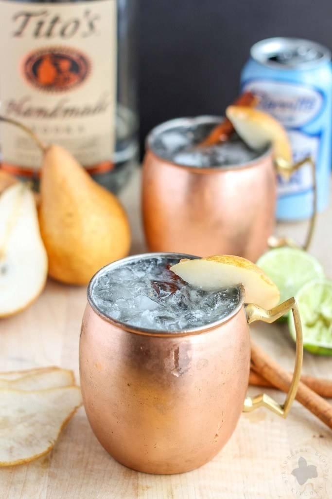 Рецепты приготовления коктейля московский мул