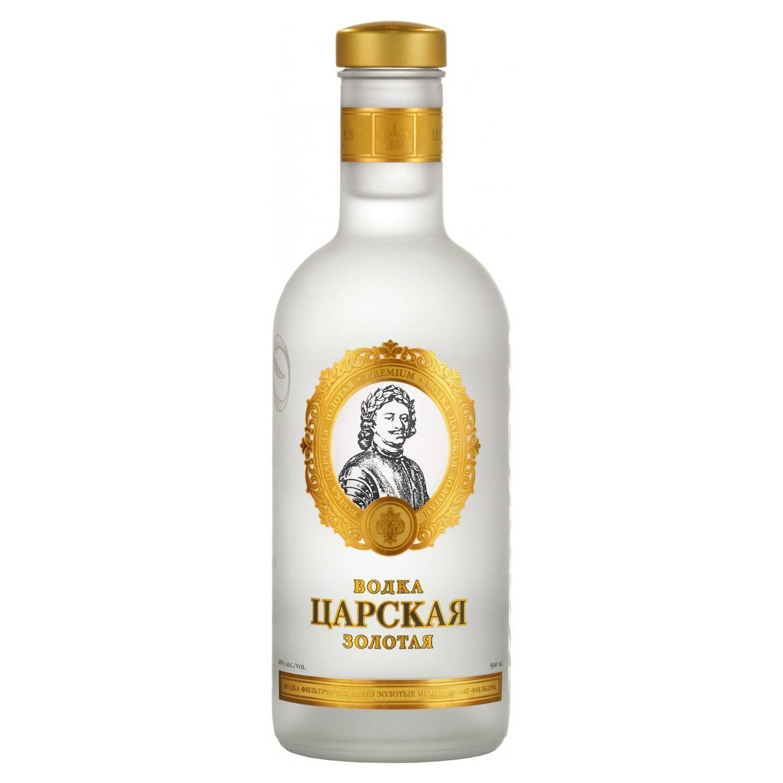 Царская золотая водка: история, особенности, обзор видов + как пить и отличить подделку