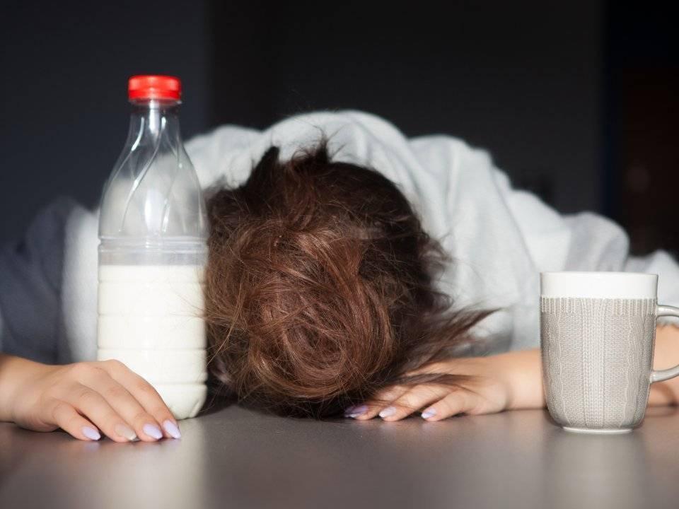 Поможет ли молоко с похмелья?