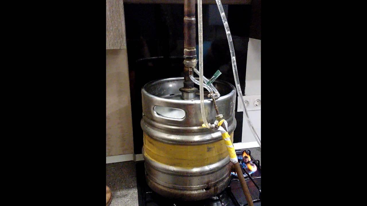 Куб из кеги 50 литров. как из пивной кеги сделать самогонный аппарат? процесс изготовления по инструкции в домашних условиях. самогонный аппарат из пивной кеги