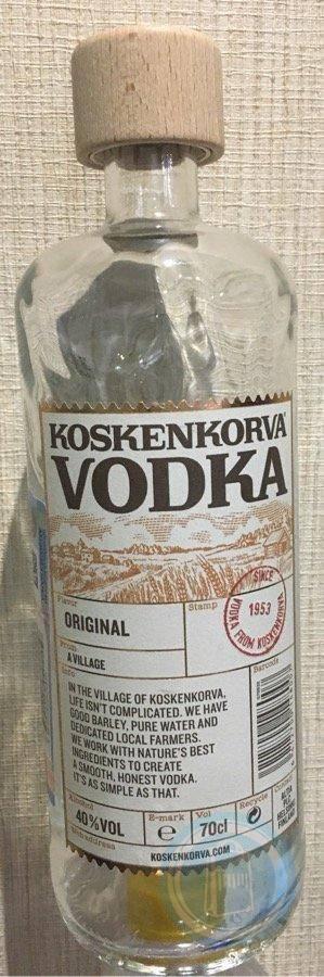 """Водка водка """"koskenkorva"""" lakritsi, 0.5 л - """"коскенкорва"""" лакрица, 500 мл"""