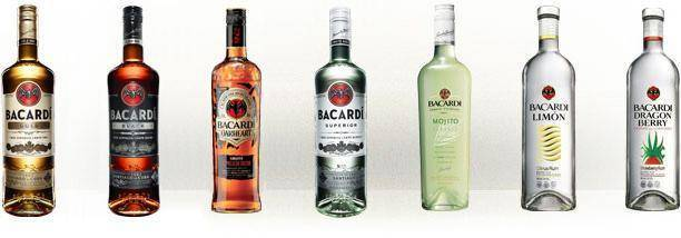 Как правильно пить ром bacardi? алкогольные коктейли с ним.