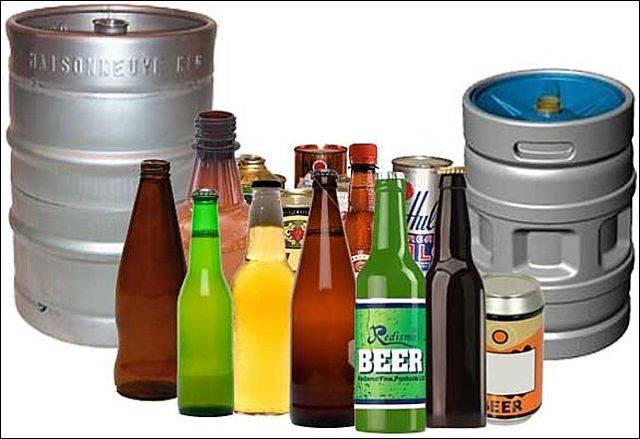 Сравнение тары для хранения домашнего пива