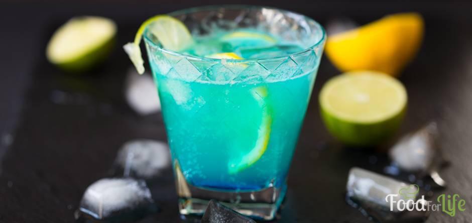 Как приготовить коктейль голубая лагуна, состав, рецепты приготовления напитка