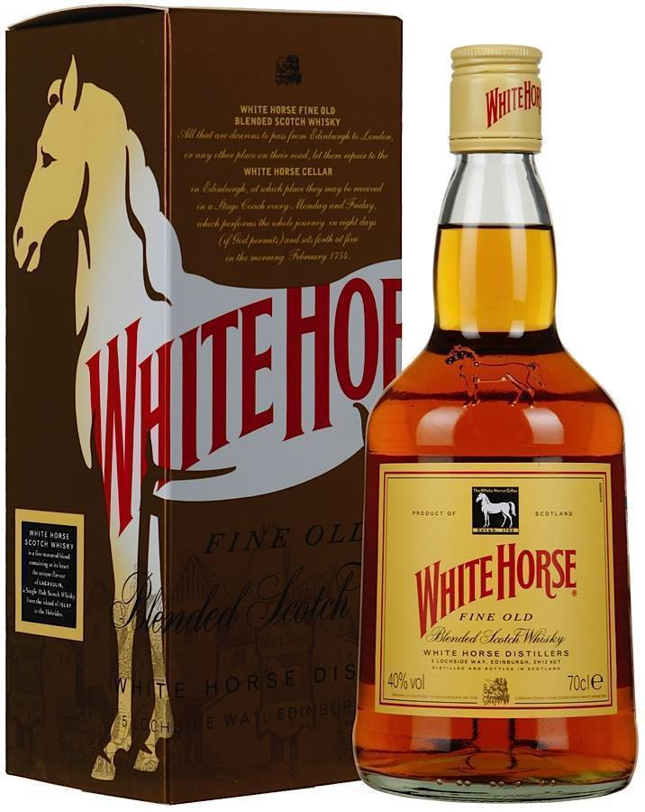 Отзывы о виски белая лошадь (white horse)