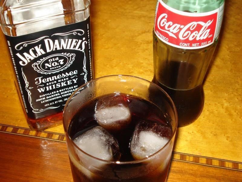 Не добавляйте колу в спиртное, это вредно для здоровья. окончание