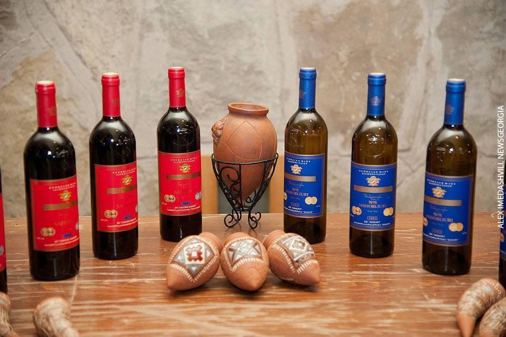 Сладкие вина грузии