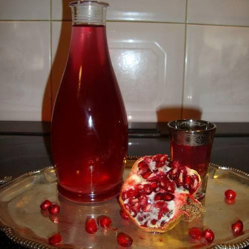 Гранатовый ликер: рецепты и коктейли