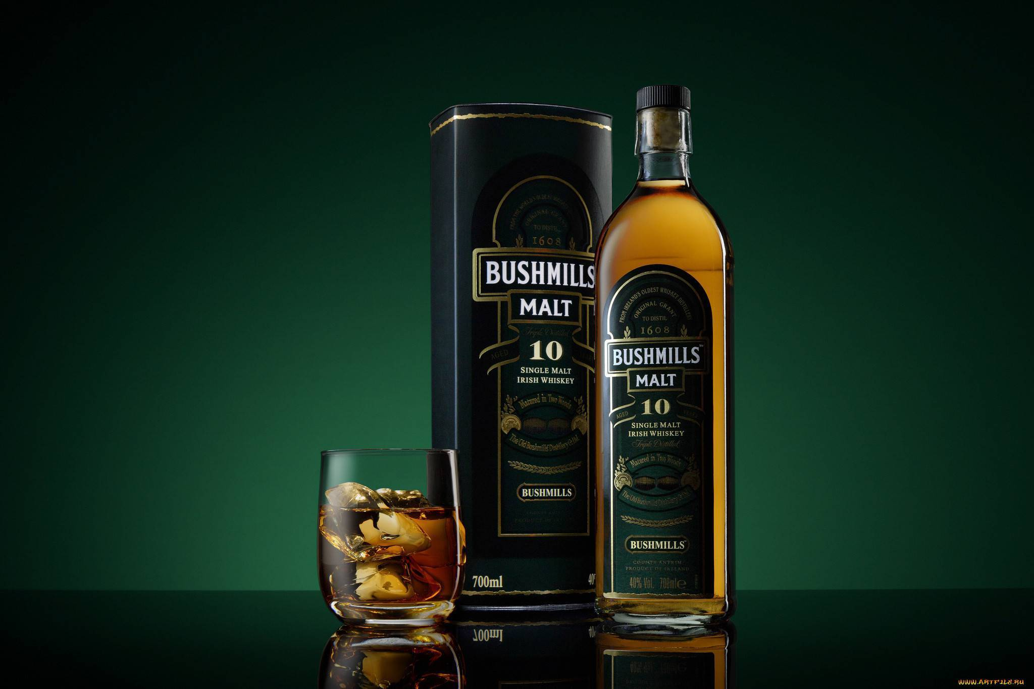 Виски «bushmills single malt»