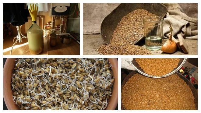 Простой рецепт самогона из муки (технология хос и ферменты)