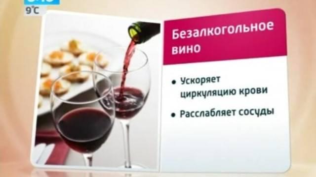 Равноценный аналог: безалкогольное вино