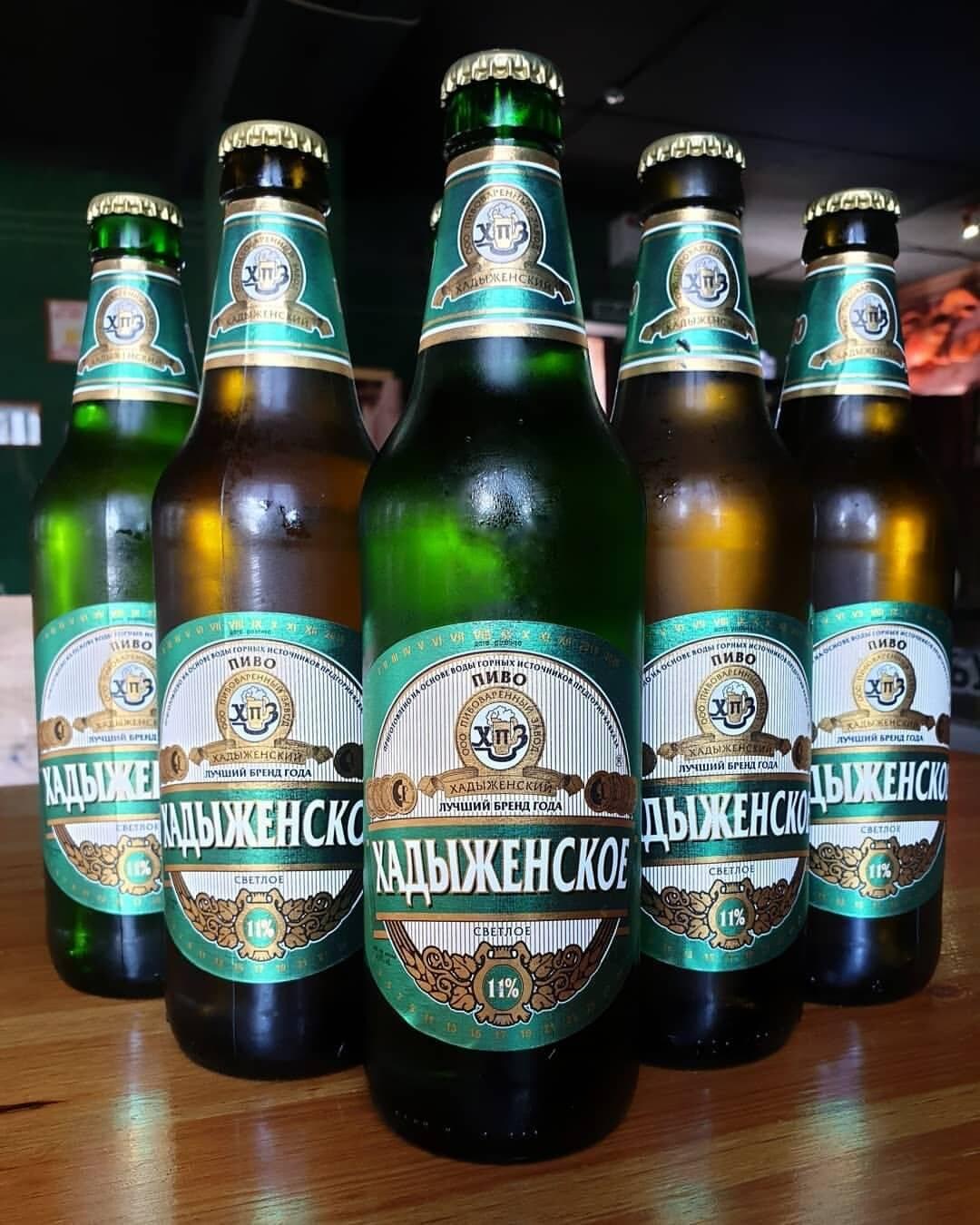 Пиво хадыженское. история и отзывы