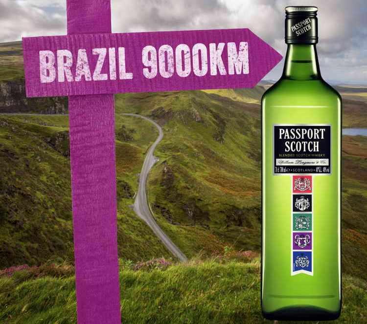 Passport scotch вкус свободы и независимости