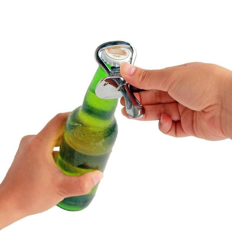 Как проще всего открыть пиво без открывашки, 9 популярных способов