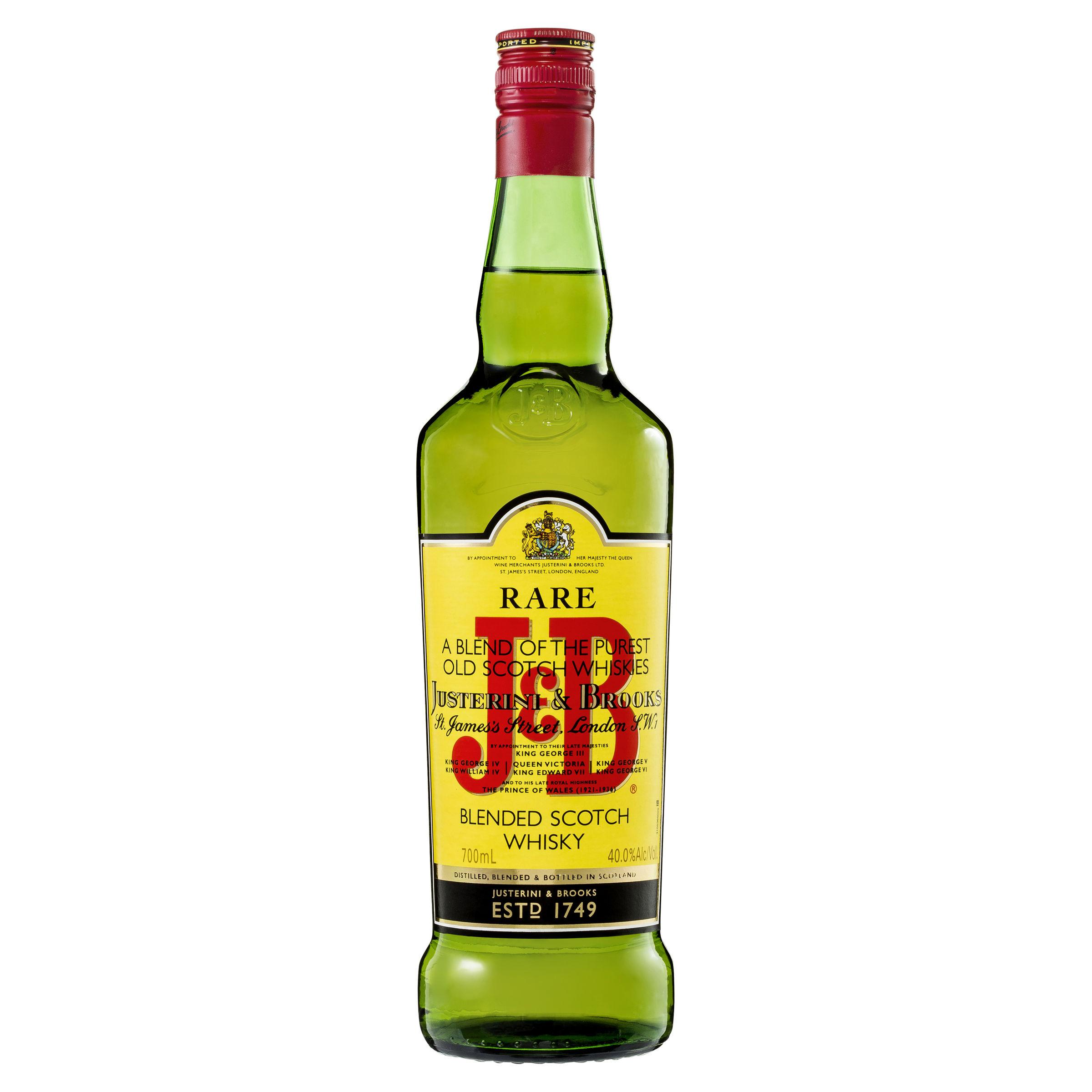 Виски джей энд би реа, 0,7 л. 40% justerini & brooks whisky j&b