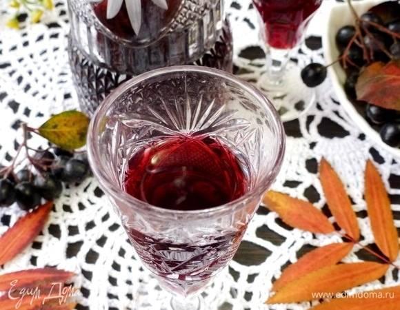 Рецепты самогона из черноплодной рябины