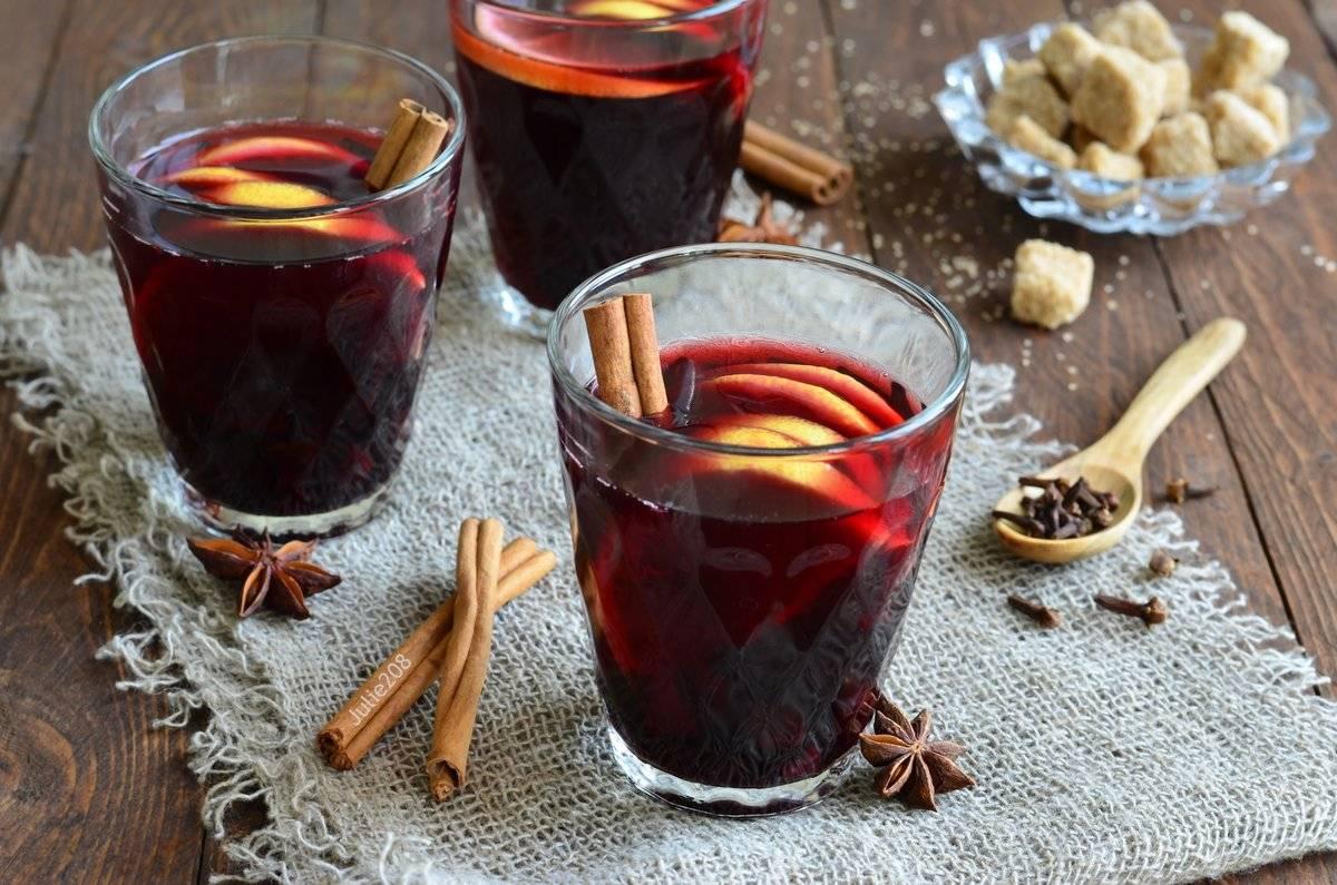 Глинтвейн из красного вина рецепт приготовления в домашних условиях ?