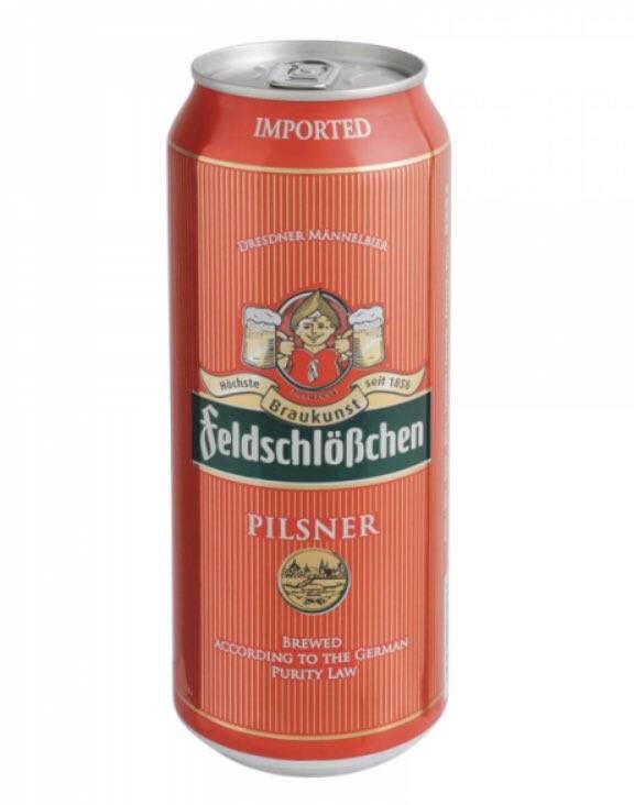 Пиво фельдшлёсхен светлое пшеничное нефильтрованное пастеризованное