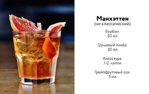 Лучшие рецепты коктейля манхэттен – классика и вариации. история создания микса